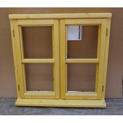 Wooden Timber Window Horizontal Centre Bar Casement Unglazed Jeldwen 910x1045mm